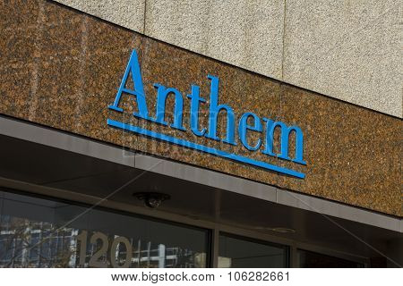 INDIANAPOLIS - CIRCA OCTOBER 2015: Anthem World Headquarters Indianapolis IN I