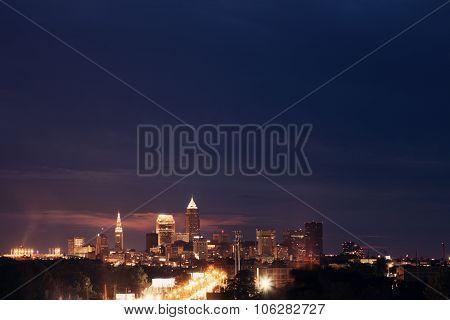 Cleveland - Skyline View