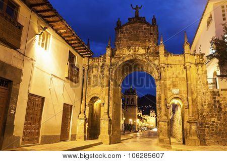 Arch In Cuzco