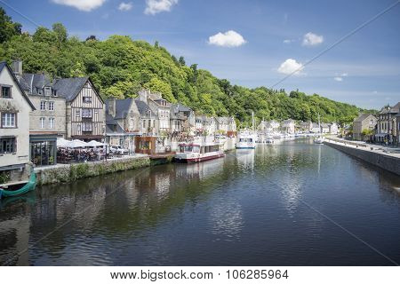 The Port Of Dinan, Brittany, France