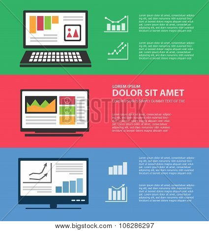 Infographics with computers