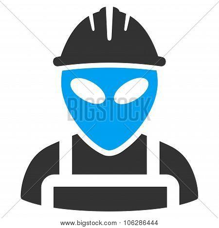 Alien Worker Icon