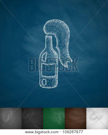 molotov cocktail icon