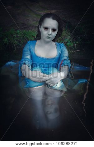 Terrible Dead Ghost Woman
