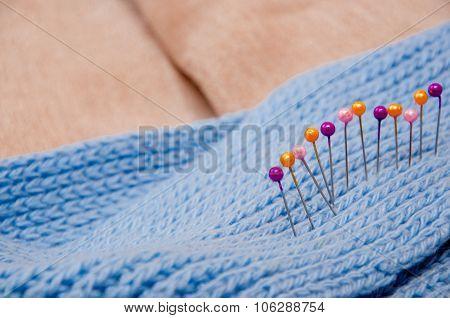 Stripe Of Pins