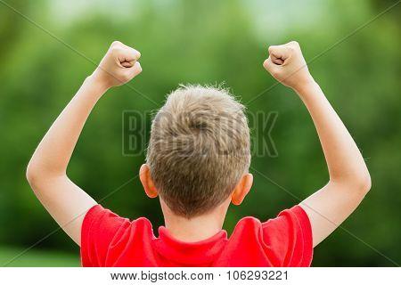 Boy With High Self Esteem