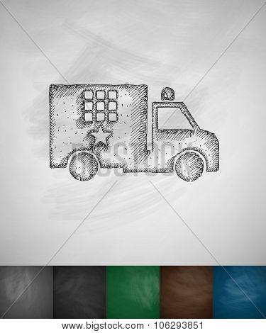 prison car icon