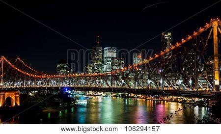 Brisbane, Australia Circa May 2014: The Skyline Of Brisbane