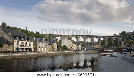 Port Of Dinan, Brittany, France