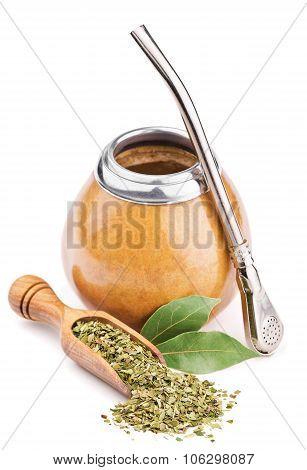 calabash and dry mate tea