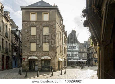 City Of Dinan, Brittany, France