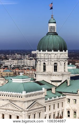 State Capitol Building - Indianapolis, Indiana
