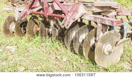 Tool For Agriculture: Disc Harrow