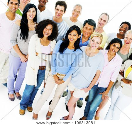 Group of Casual People Social Gathering Concept