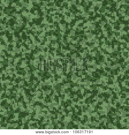 digital camouflage seamless background pattern.