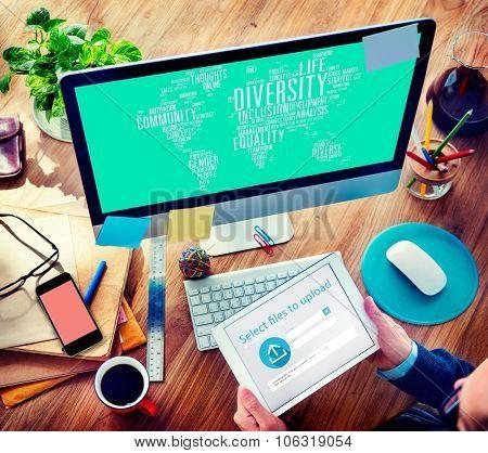 Diversity Community Population Business People Concept