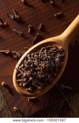 Raw Brown Organic Cloves