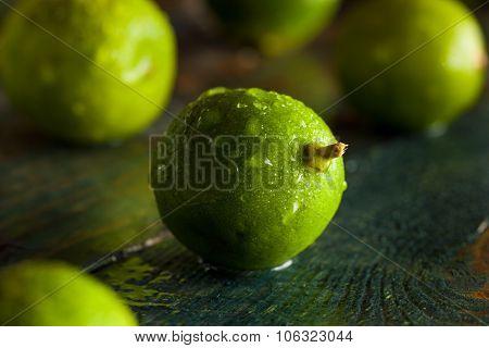 Raw Green Organic Key Limes