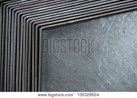 Abstract Metal Scratch