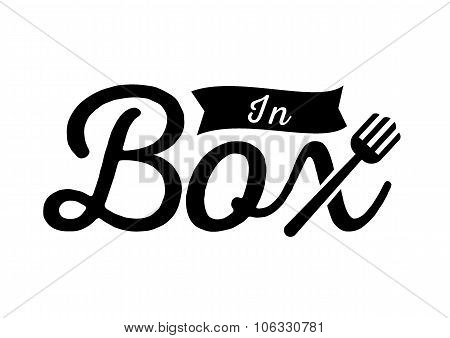 Inbox Logo With Fork