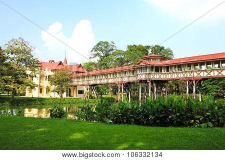 Sanam Chan Palace,(king Rama 6), Nakhon Pathom, Thailand