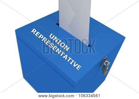 Union Representative Concept