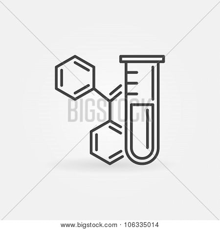Chemistry icon or logo