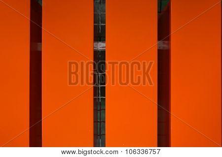 Orange Wood Lath