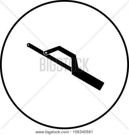 mini hacksaw symbol