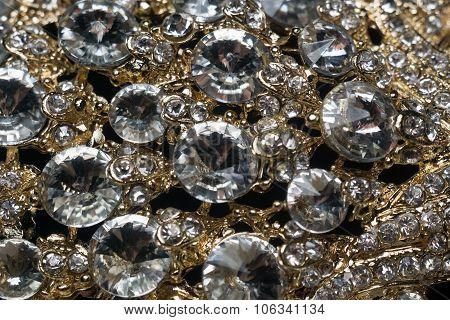 Diamonds And Gold Macro