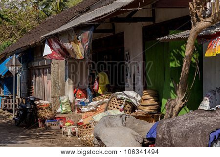 Empty Street Market, Bali
