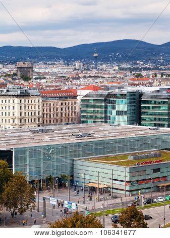 Vienna Praterstern Railway Station, Austria