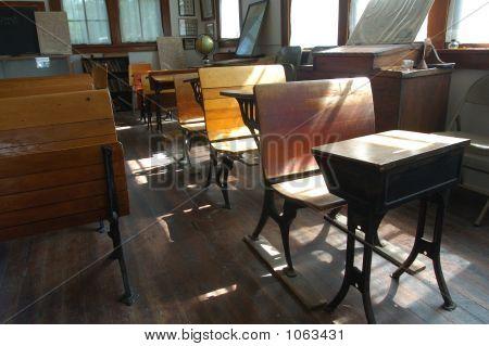 Una escuela de la sala