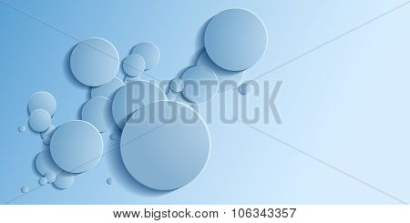Abstract Background Is Similar To The Bubbles.vector