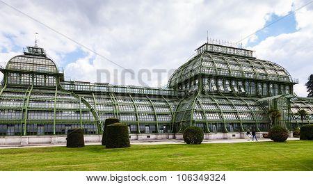 Palmenhaus Palm House Pavilion Schonbrunn Garden