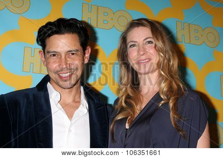LOS ANGELES - JAN 11:  Anthony Ruivivar, Yvonne Jung at the HBO Post Golden Globes Party at a Beverly Hilton on January 11, 2015 in Beverly Hills, CA