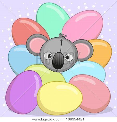 Koala With Eggs