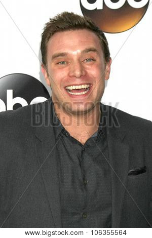 LOS ANGELES - JAN 14:  Billy Miller at the ABC TCA Winter 2015 at a The Langham Huntington Hotel on January 14, 2015 in Pasadena, CA