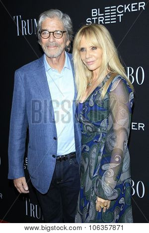 LOS ANGELES - OCT 27:  Todd Morgan, Rosanna Arquette at the