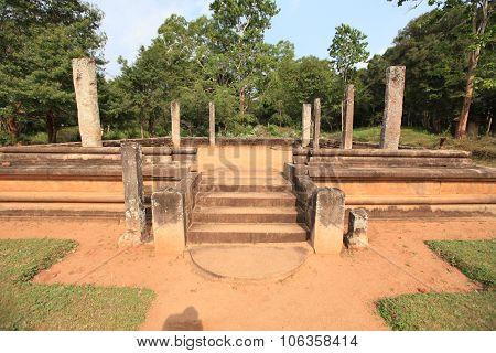 Polonnaruwa, Architecture Sculptures, Old Ruin, In Sri Lanka