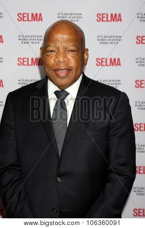 SANTA BARBARA - DEC 6:  John Lewis at the