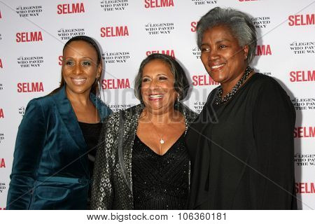 SANTA BARBARA - DEC 6:  Myrlie Evers-Williams at the