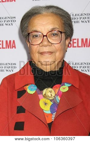 SANTA BARBARA - DEC 6:  Marian Wright Edleman at the