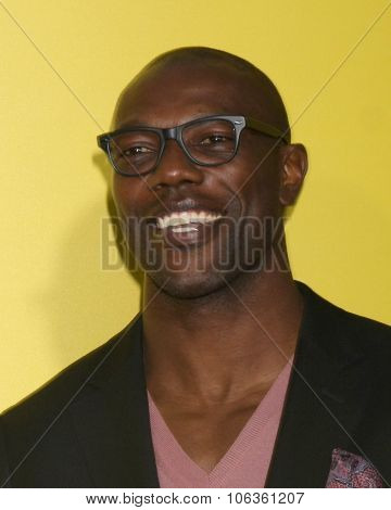 LOS ANGELES - JAN 10:  Terrell Owens at the CW Network presents