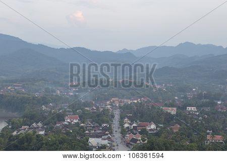 The Highly Visible Luang Prabang, Laos.