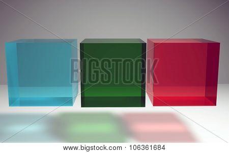 Geometric Crystal Cube