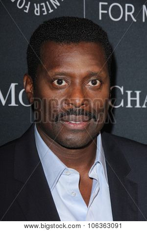 LOS ANGELES - OCT 26:  Eamonn Walker at the Paley Center's Hollywood Tribute to African-Americans in TV at the Beverly Wilshire Hotel on October 26, 2015 in Beverly Hills, CA