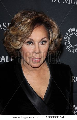 LOS ANGELES - OCT 26:  Diahann Carroll at the Paley Center's Hollywood Tribute to African-Americans in TV at the Beverly Wilshire Hotel on October 26, 2015 in Beverly Hills, CA