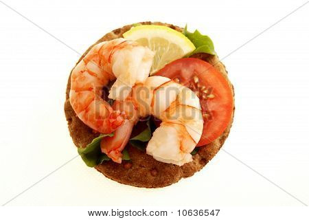 Tiger Prawn on Rye