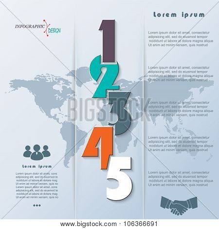 Creative Vector Infographic Can Be Used For Web Design, Business Brochure, Presentation Template